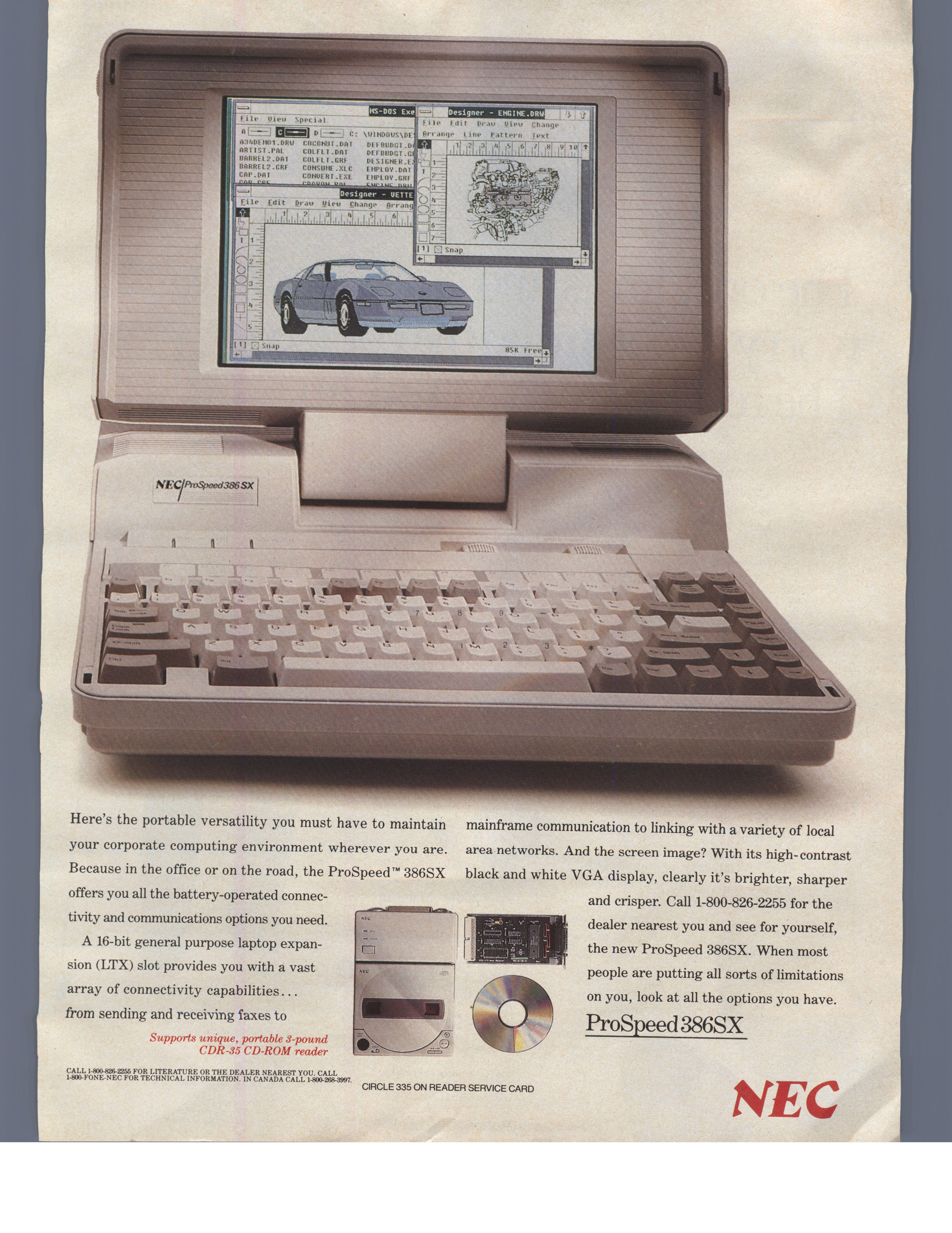 NEC ProSpeed 386 SX