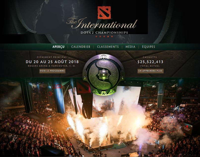 The international 2018 !