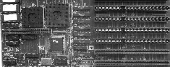 EISA connectors on the motherboard