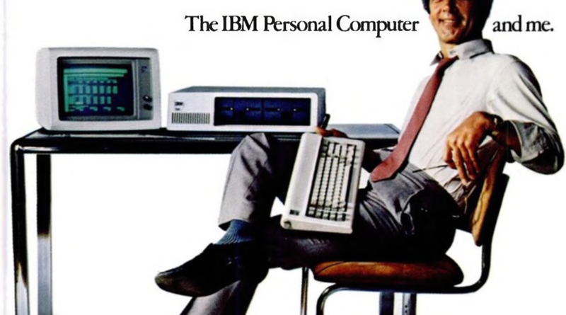 The IBM 8088 Personnal Computer
